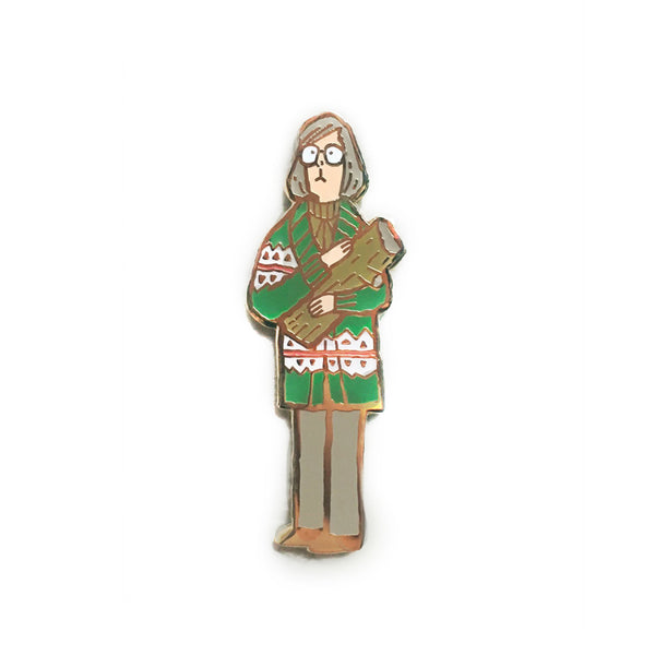 Scott C. - Log Lady Pin