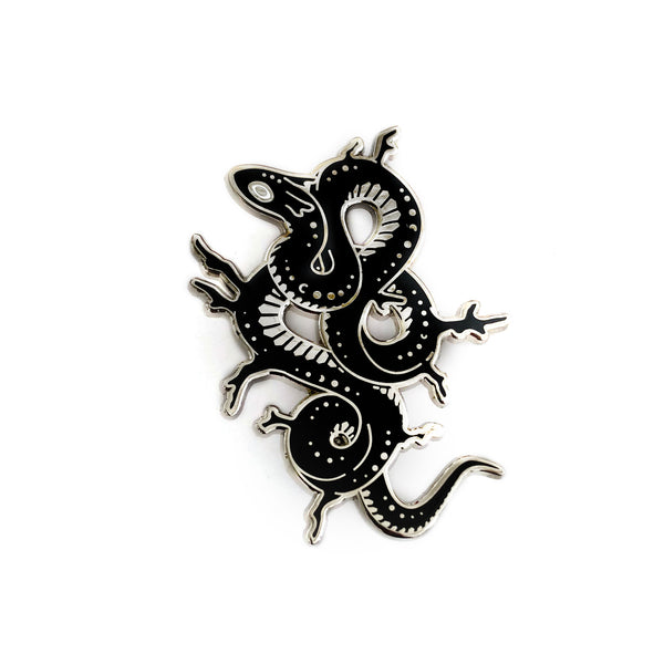 Faunwood - Moonscale Serpent Pin