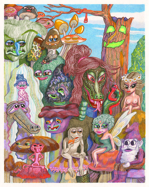 Matt Furie - Shroomgully