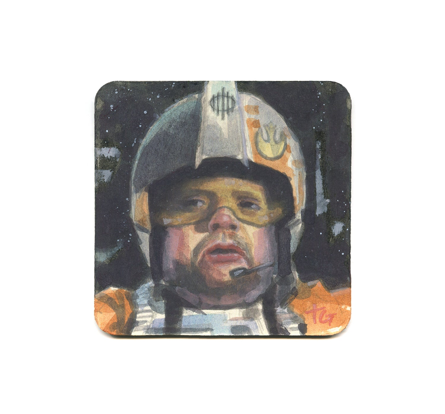 Terrence Gasca - Porkins Coaster