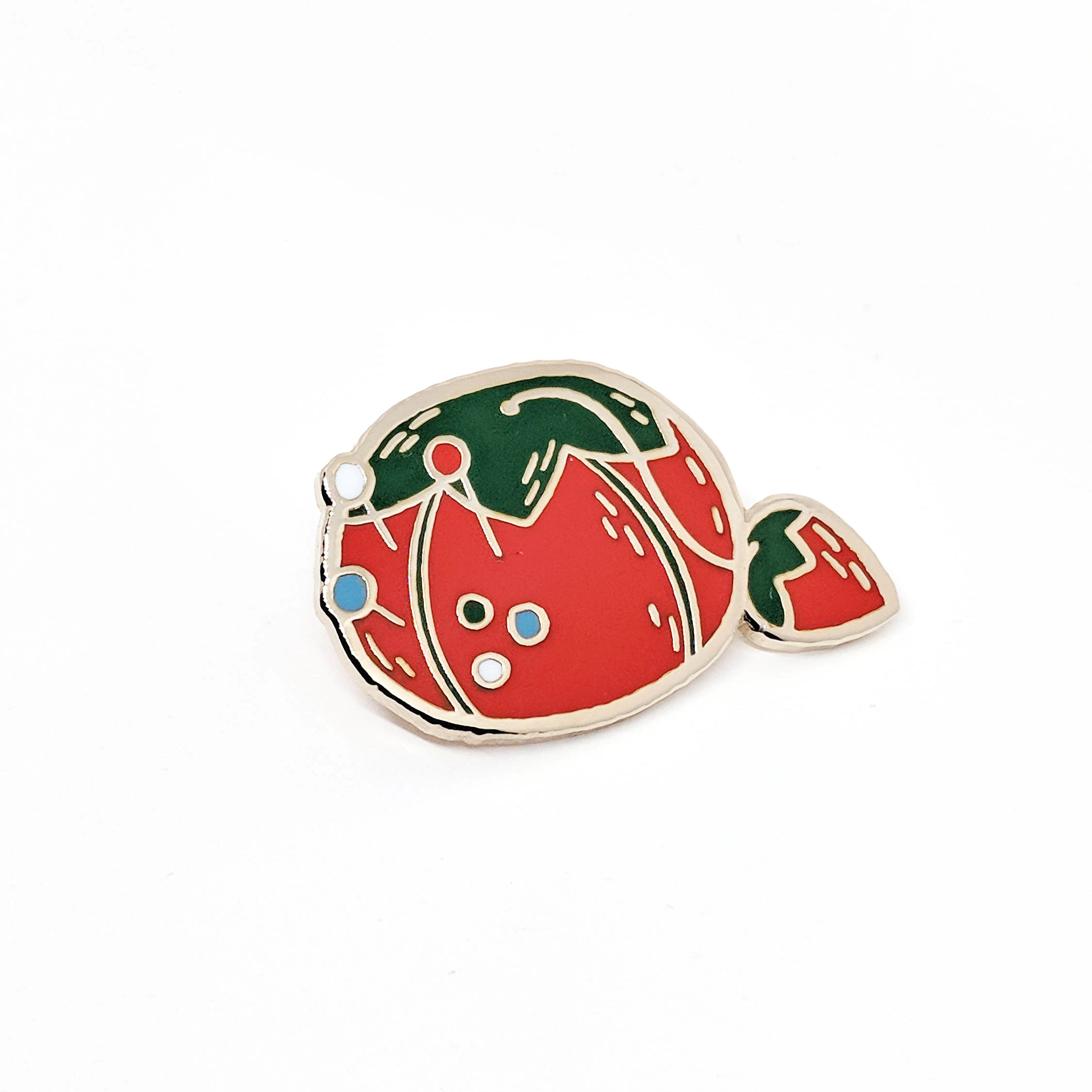 Justine Gilbuena - Tomato Pin Cushion Pin