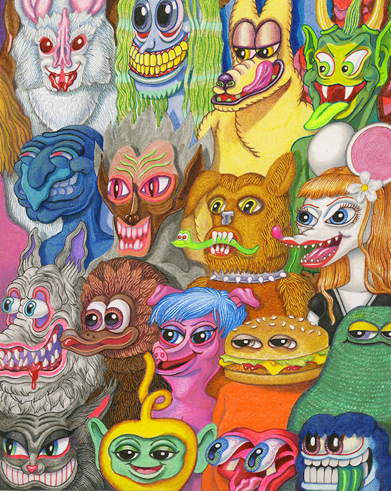 Matt Furie - Tuff Crowd