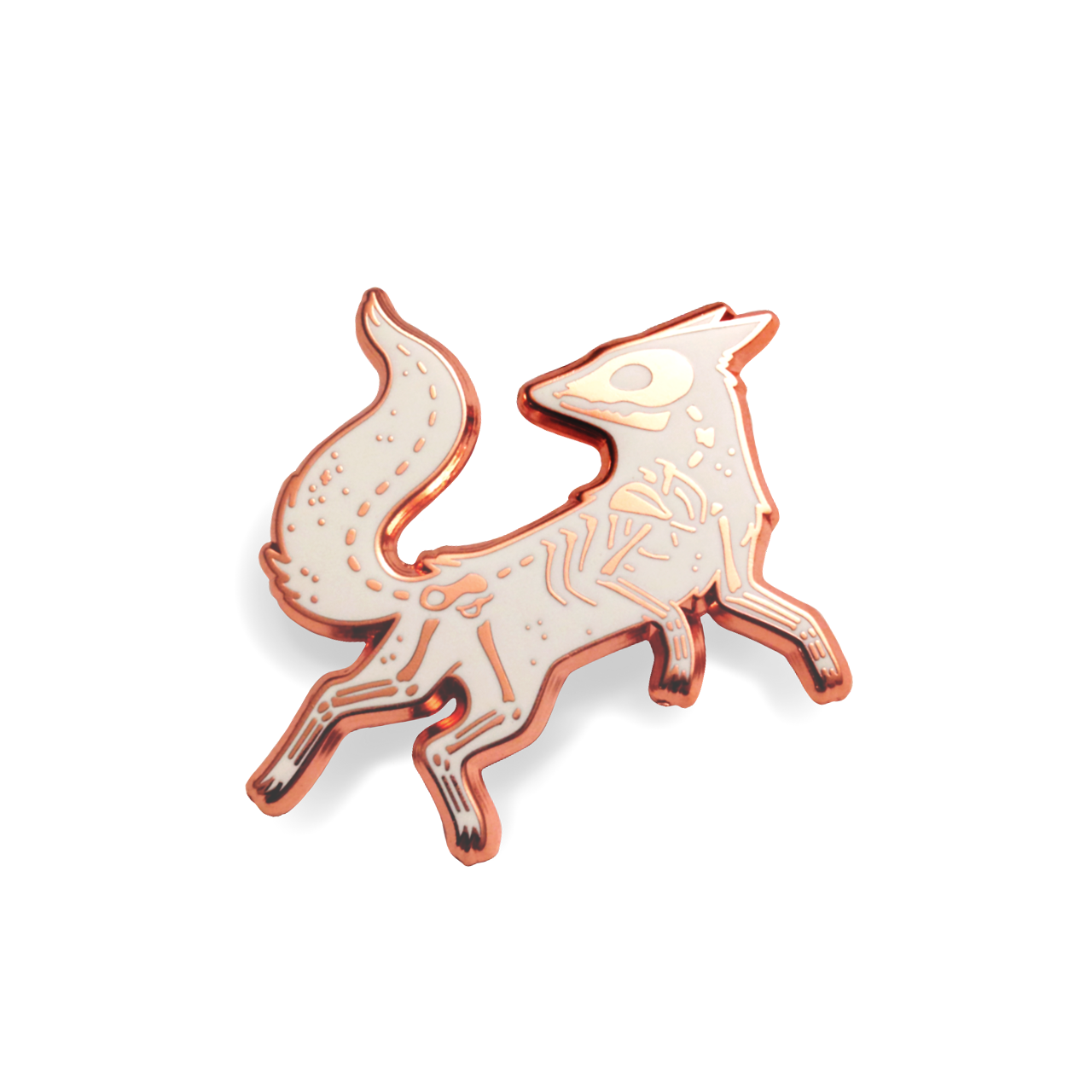 Faunwood - Vulpes Pin (Copper)