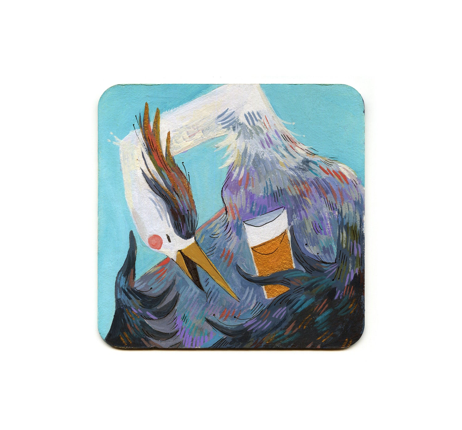 S1 Zoe Persico - All Day IPA Coaster
