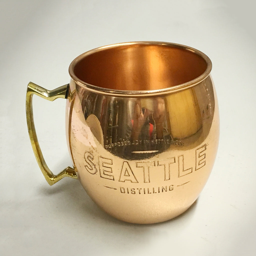 Seattle Distilling Copper Mule Mug