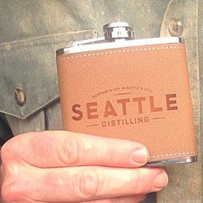 Seattle Distilling Flask