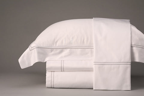 MOSAIC COTTON PERCALE REVERSIBLE QUILT