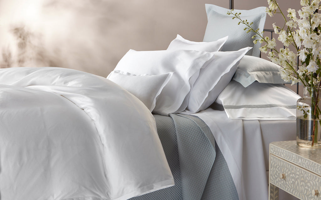 TALITA SATIN STITCH - DUVET COVER