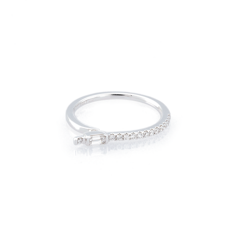 Polygon Eternity Ring