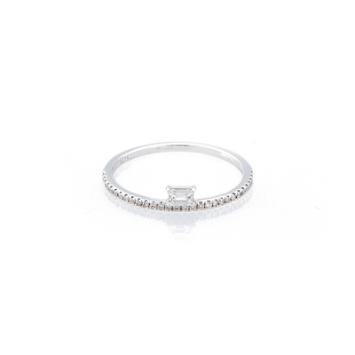 Drop Polygon Eternity Ring