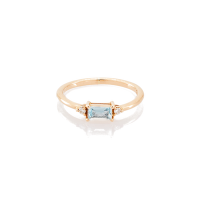 Alice Aquamarine Ring