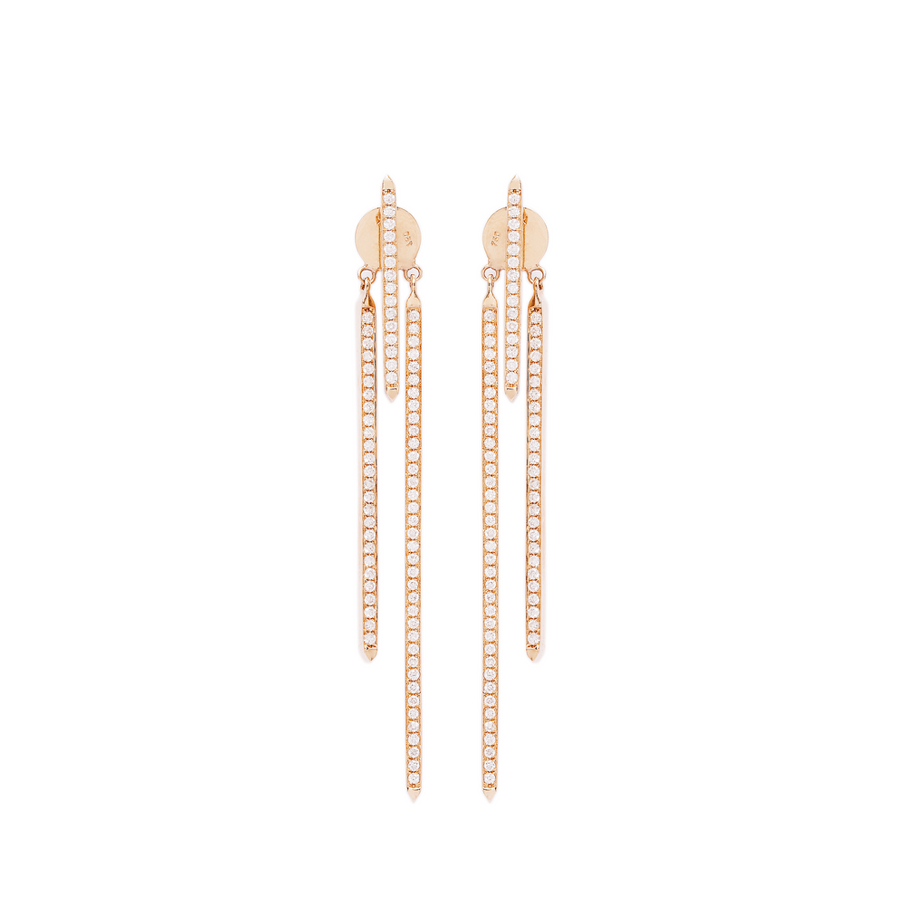 Three Bars Earrings