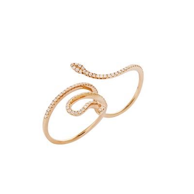 Snake Wrap Around Ring