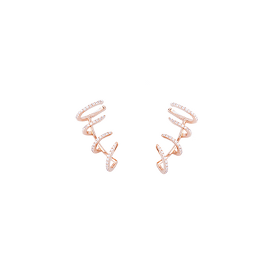 Four Claws Cuff Earrings