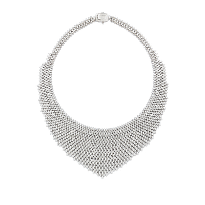 Audrey's Silk Diamond Necklace