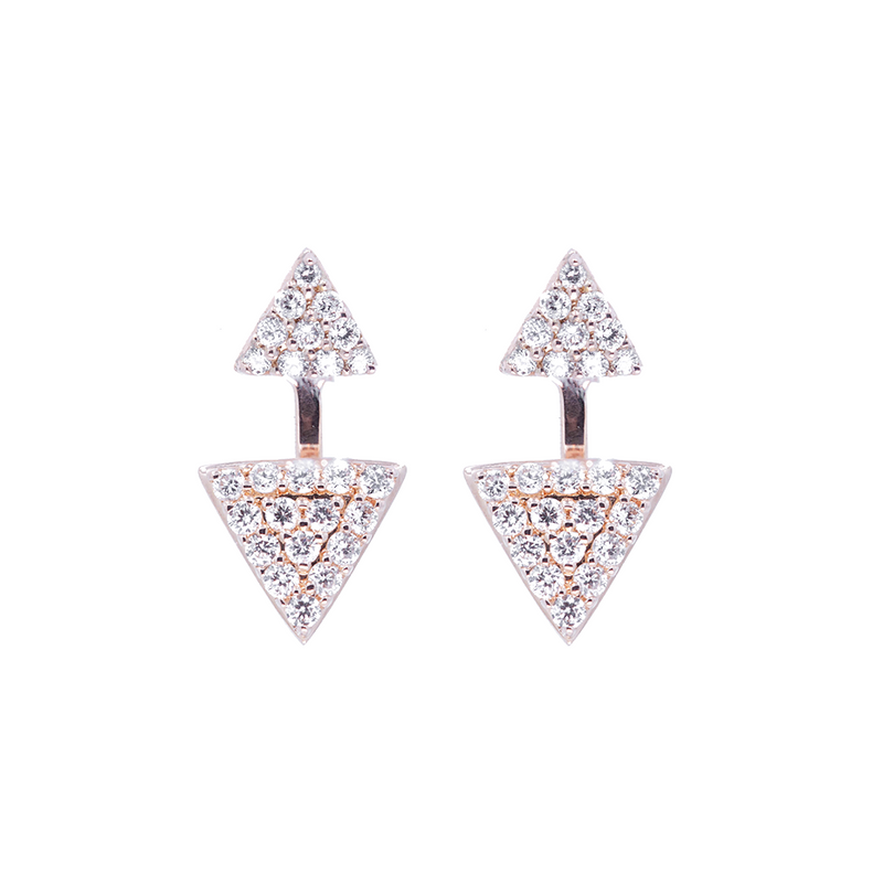 Double Prism Earrings