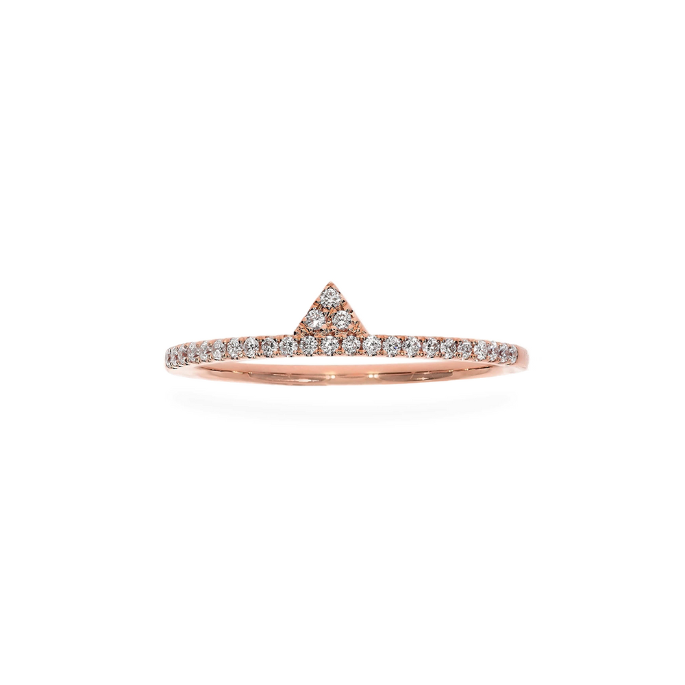 Small Prism Eternity Ring