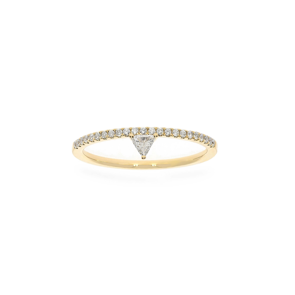 Solitaire Prism Eternity Ring