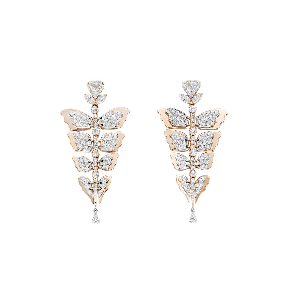 Yara Butterfly Scales Earring