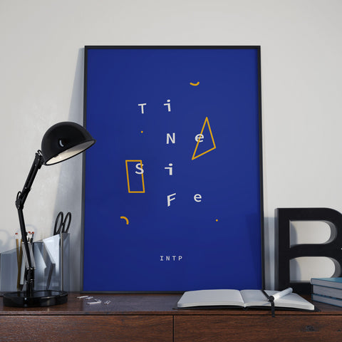 INTP Functions Poster, Framed