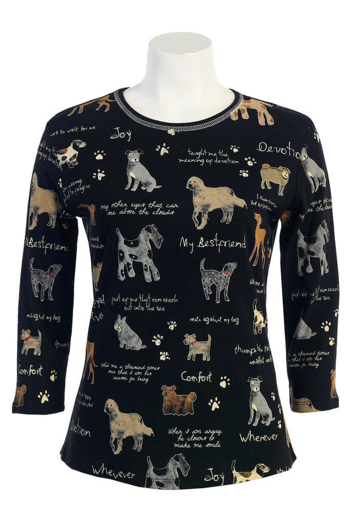 Dog Lovers Long Sleeve - 14-244