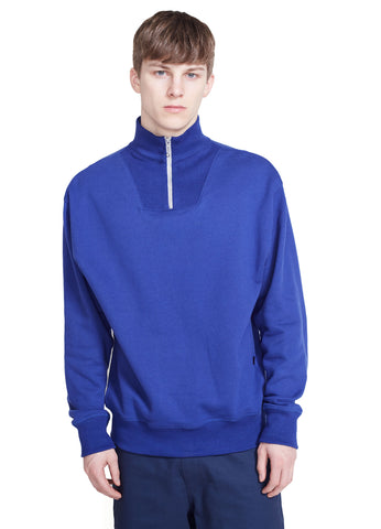 TURTLENECK ZIP SWEATSHIRT