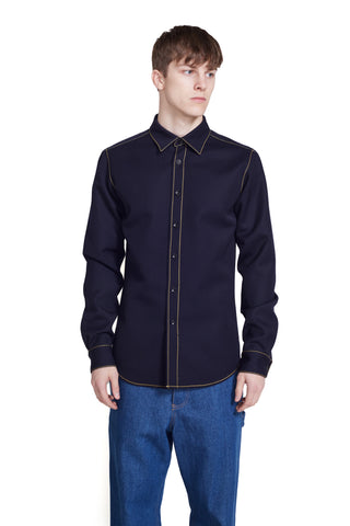 LINED FLARE WORKSHIRT