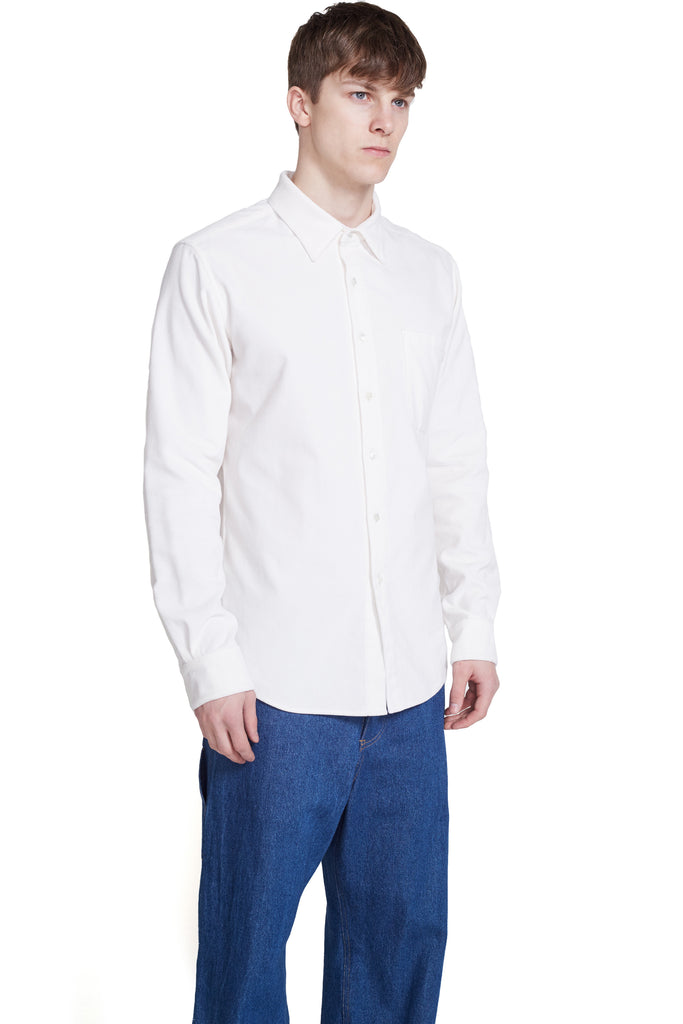 FLARE COLLAR WORKSHIRT