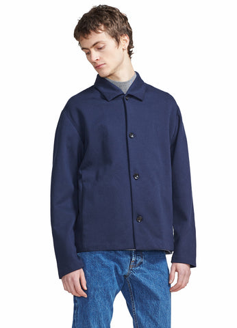 ROLL COLLAR SHIRT JACKET