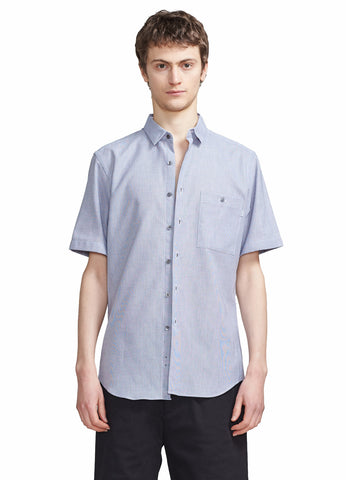 SHORT SLEEVE STITCHLESS BUTTONDOWN