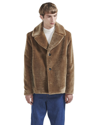MOHAIR FUR COAT
