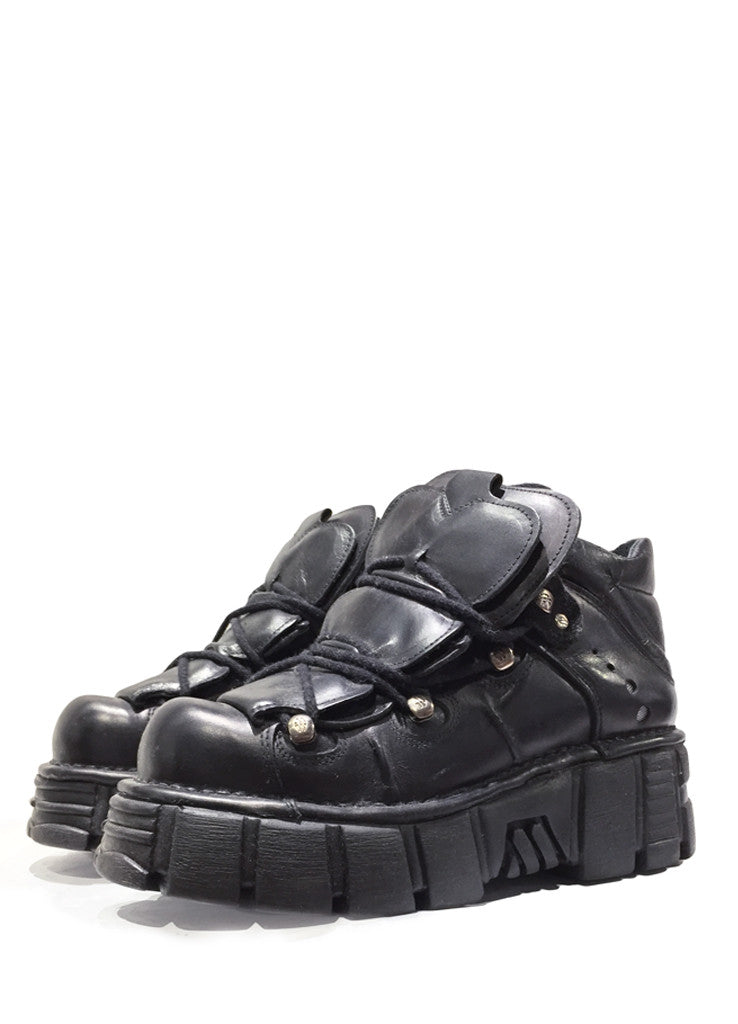 PATRIK ERVELL HIGH-TOP PLATFORM BOOTS