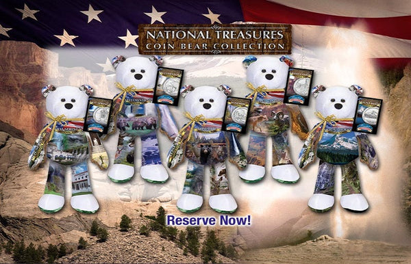 AMERICA THE BEAUTIFUL NATIONAL PARK BEARS