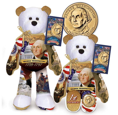 #1 George Washington Dollar Coin bear