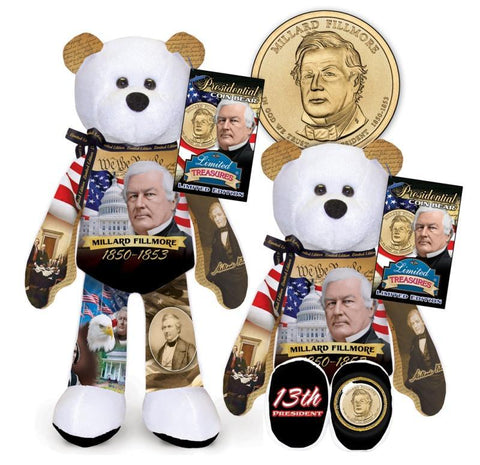Millard Fillmore Dollar Coin Bear