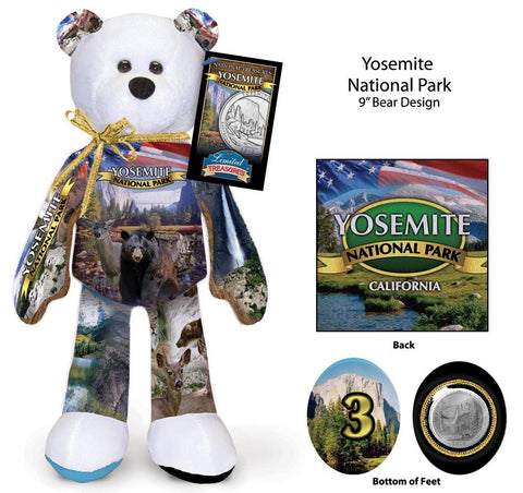 Yosemite California National Park Coin bear