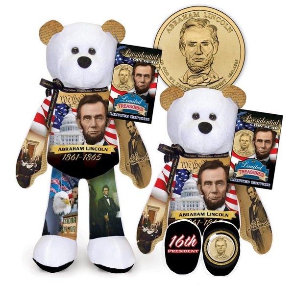1st 36 President Dollar Coin bear Set