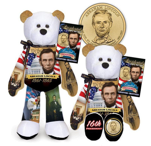 Abraham Lincoln Dollar Coin bear