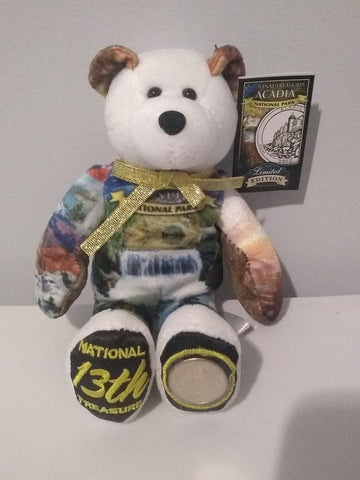 #13 Acadia National Park Coin bear part of the America the Beautiful Series