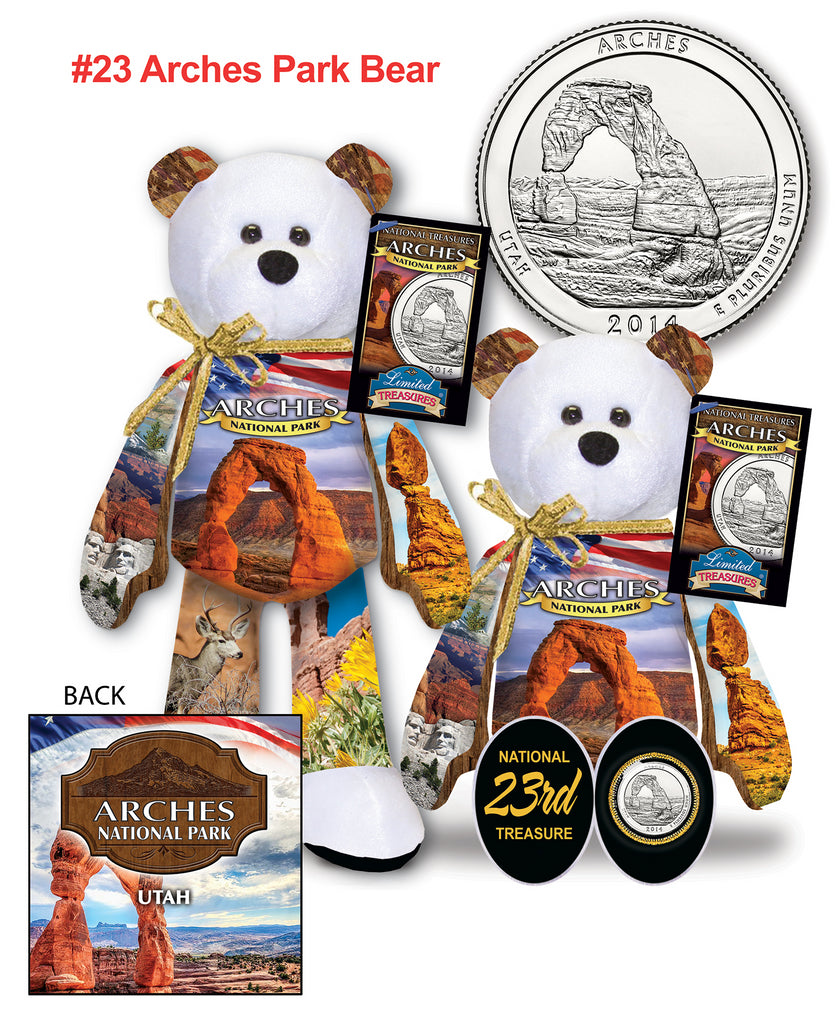 Arches Utah National Park Quarter bear