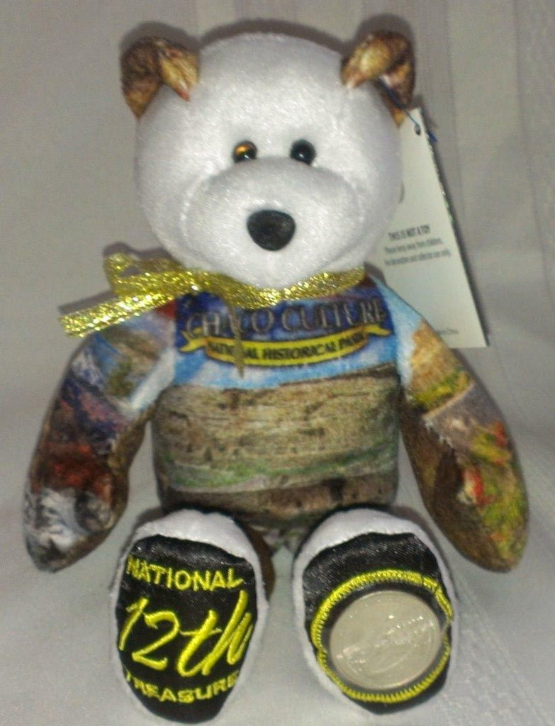 #12 Chaco National Historical Park Coin bear Part of the America the Beautiful Series