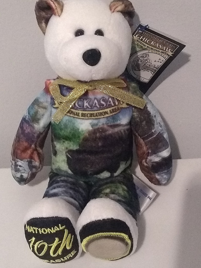 #10 Chickasaw National Recreation Area Coin bear part of the America the Beautiful Series