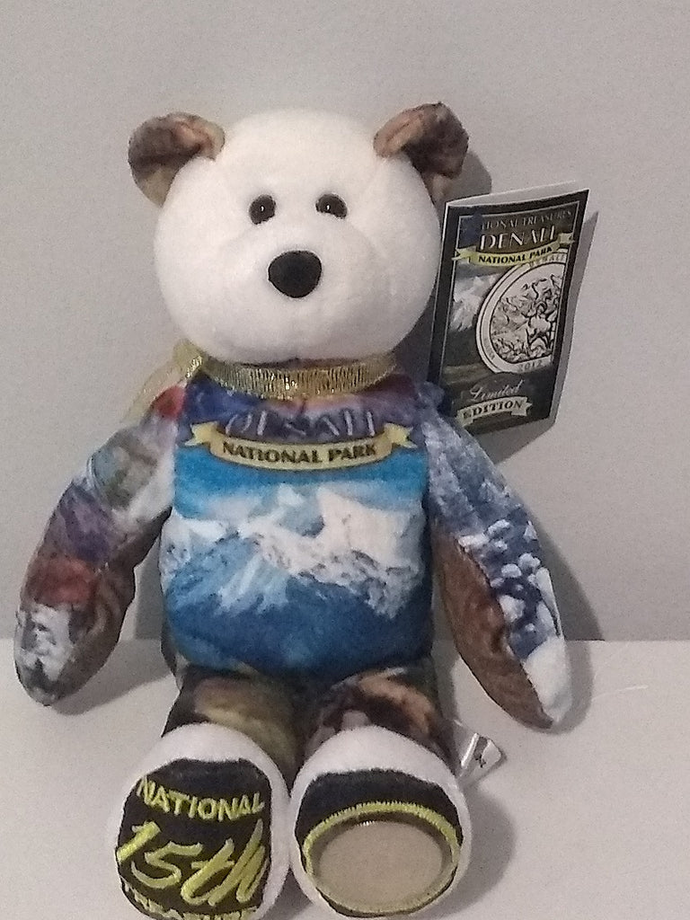 #15 Denali National Park Coin bear Part of the America the Beautiful Series