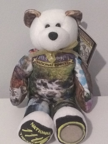 #11 Yunque Puerto Rico National Forest coin bear part of the America the Beautiful Series