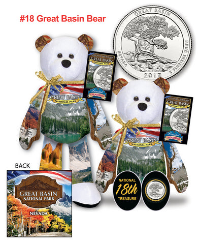 Great Basin Nevada National Park Quarter bear