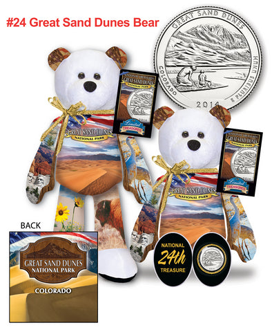 Great Sand Dunes Colorado National Park Quarter bear