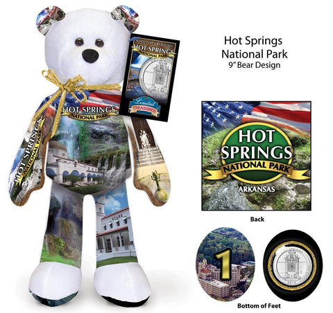 Hot Spring Arkansas National Park Quarter bear