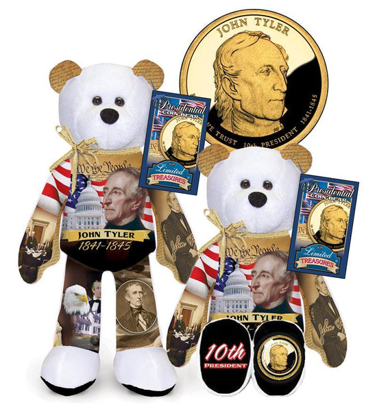 John Tyler Dollar Coin Bear