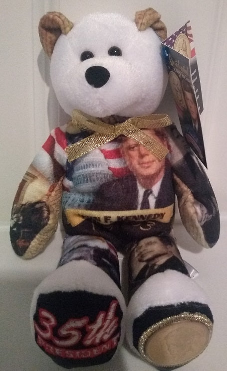 xk - #35 John F. Kennedy Dollar Coin bear