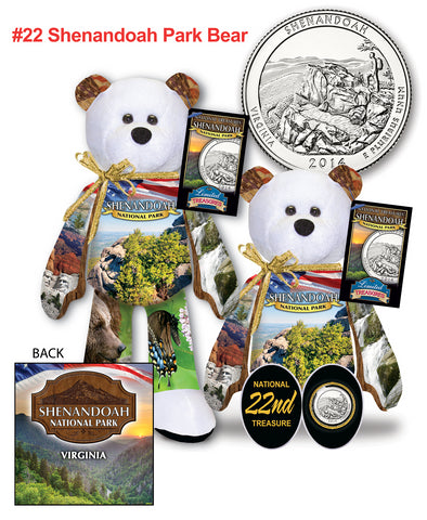 Shenandoah Virginia National Park Quarter bear